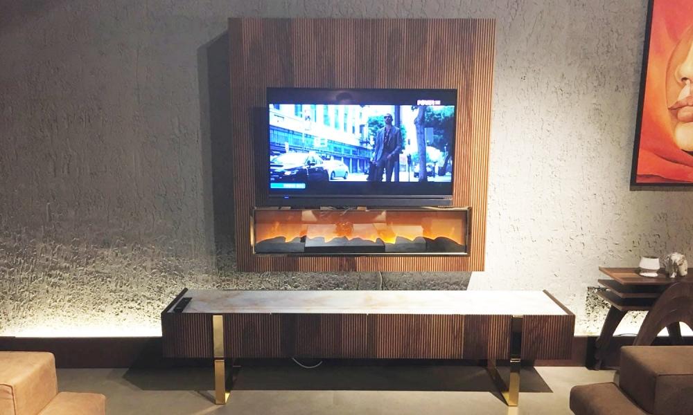 Fireplace Tv Ünitesi - MN Mira